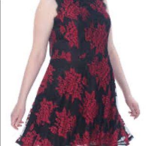 Plus Size City Studio Lace Party Dress NWT
